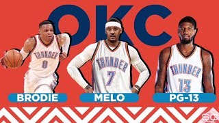 Carmelo Anthony trade puts Thunder in superteam conversation | ESPN