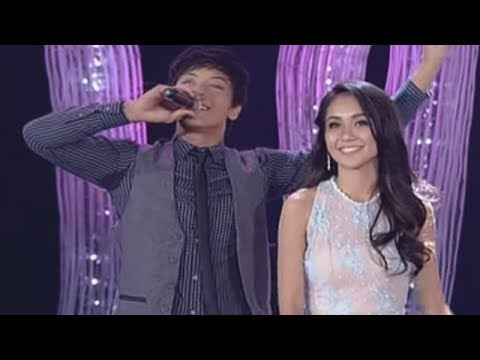 Kathryn & Daniel 'WITH A SMILE' duet at the ABS-CBN CHRISTMAS SPECIAL 2013