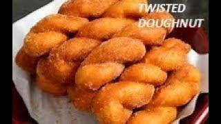 Twist Donut || Homemade Twisted Korean Doughnut Recipe – Easy, Tasty & Quick Recipe _FOOD BUZZ