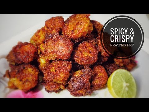 Spicy & Crispy Prawns Fry || Sea-Food Recipes || Prawns Recipes By Ayesha's World With Eng Subs