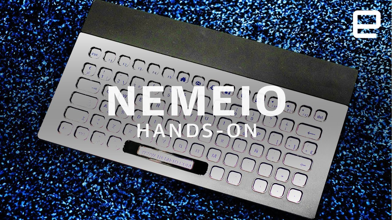 Nemeio Hands-On: A completely customizable e-ink keyboard