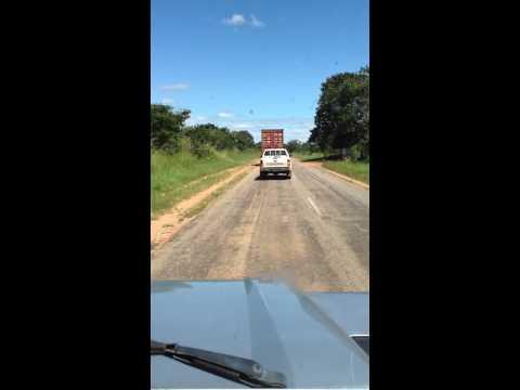 Uranium Transport from Malawi to Namibia