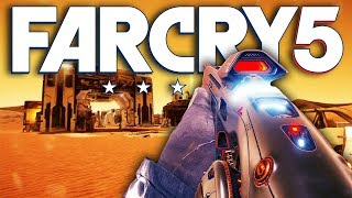 Far Cry 5 NEW MARS DLC WEAPONS & GAMEPLAY (Far Cry 5 Lost on Mars DLC)