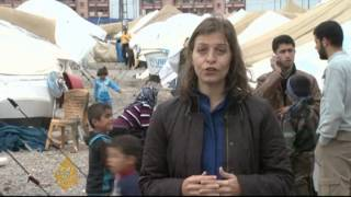Some Syrians abandon refugee camps and head home