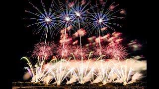 赤川花火 2018 オープニング 北日本花火興業  [4k] Akagawa Fireworks Festival Japan