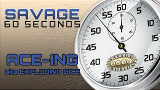 Savage 60 Seconds - Episode 2 - ACE-ing