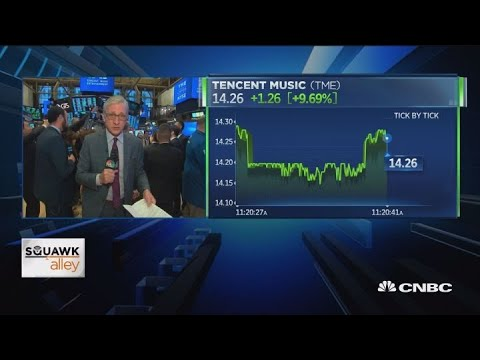 Tencent Music Entertainment debuts on NYSE Mp3