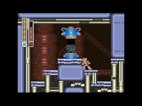Megaman X2 Gameplay - HD - 1080p - Part 11 - X-Hunter Base 3 - Dragon Punch