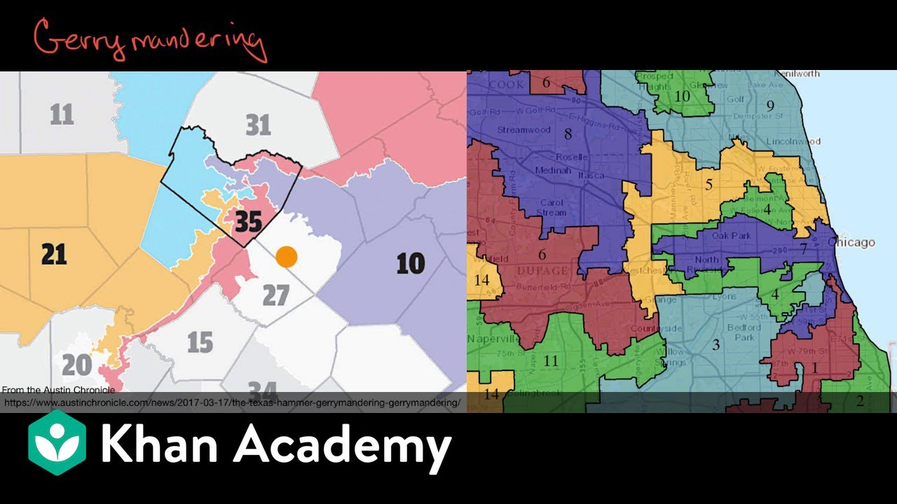Gerrymandering Video Khan Academy - Florida-us-representative-district-map