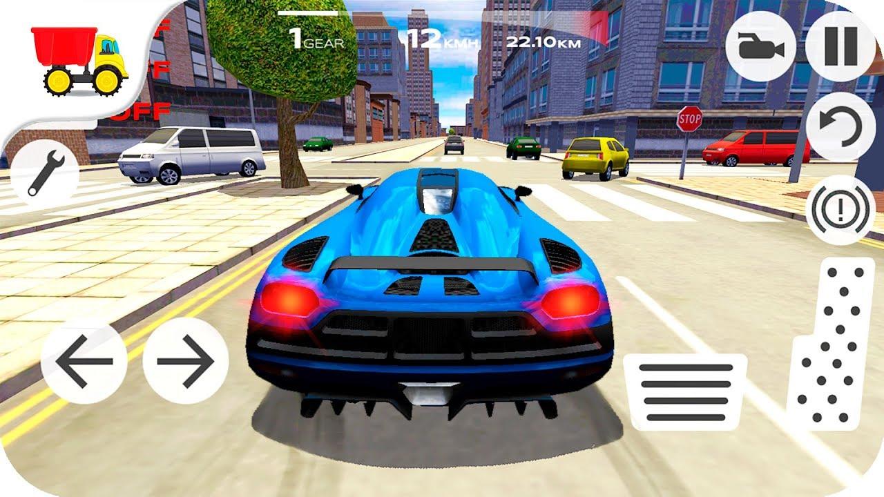 Car Racing Games Extreme Car Driving Simulator