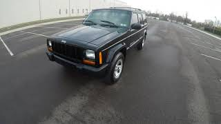 4K Review 2001 Jeep Cherokee Sport Virtual Test-Drive and Walk around