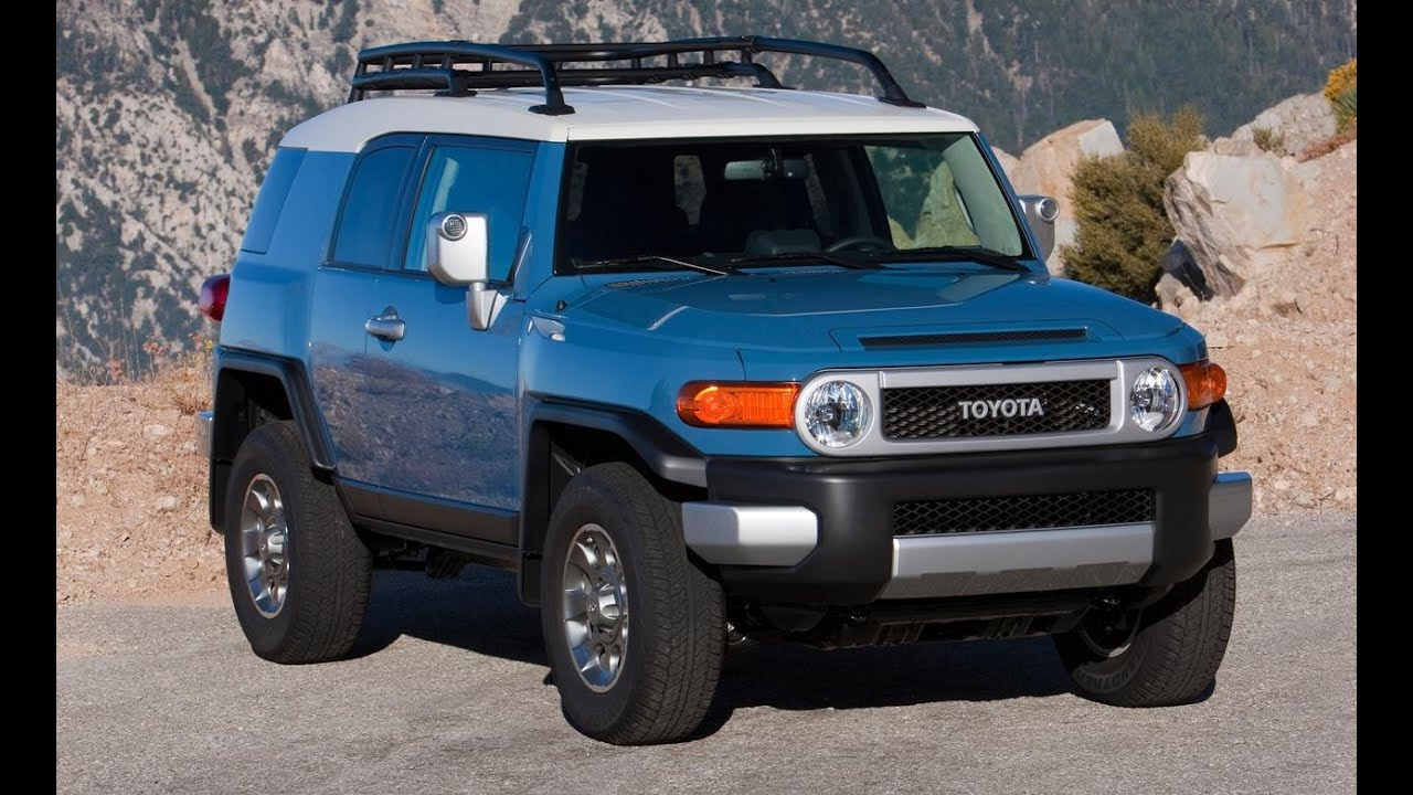 2013 Toyota Highlander For Sale >> 2015 Toyota FJ Cruiser - YouTube