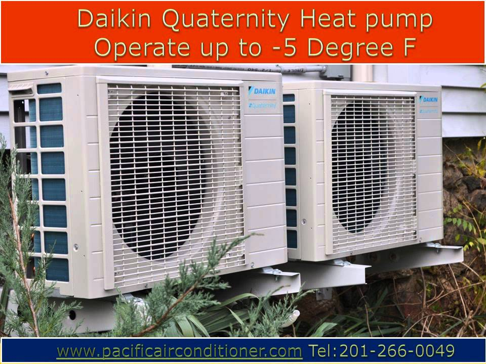 An Installation Of Ductless Air Conditioning Heat Pump