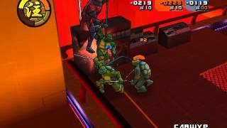 Прохождение Черепашки ниндзя 2 битва нексус #8 (зеленые гопники)