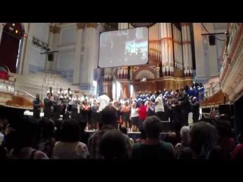 Oh Happy Day - Performed By The Gospel Fusion Mass Choir