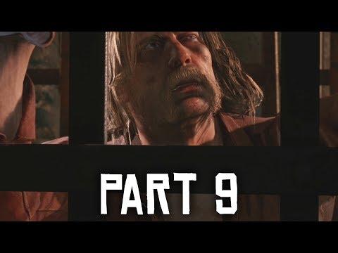 RED DEAD REDEMPTION 2 Walkthrough Part 9 - PRISON BREAK (Full Game)