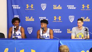 UCLA M. Basketball Postgame Press Conference, Student-Athletes - 11.17.17