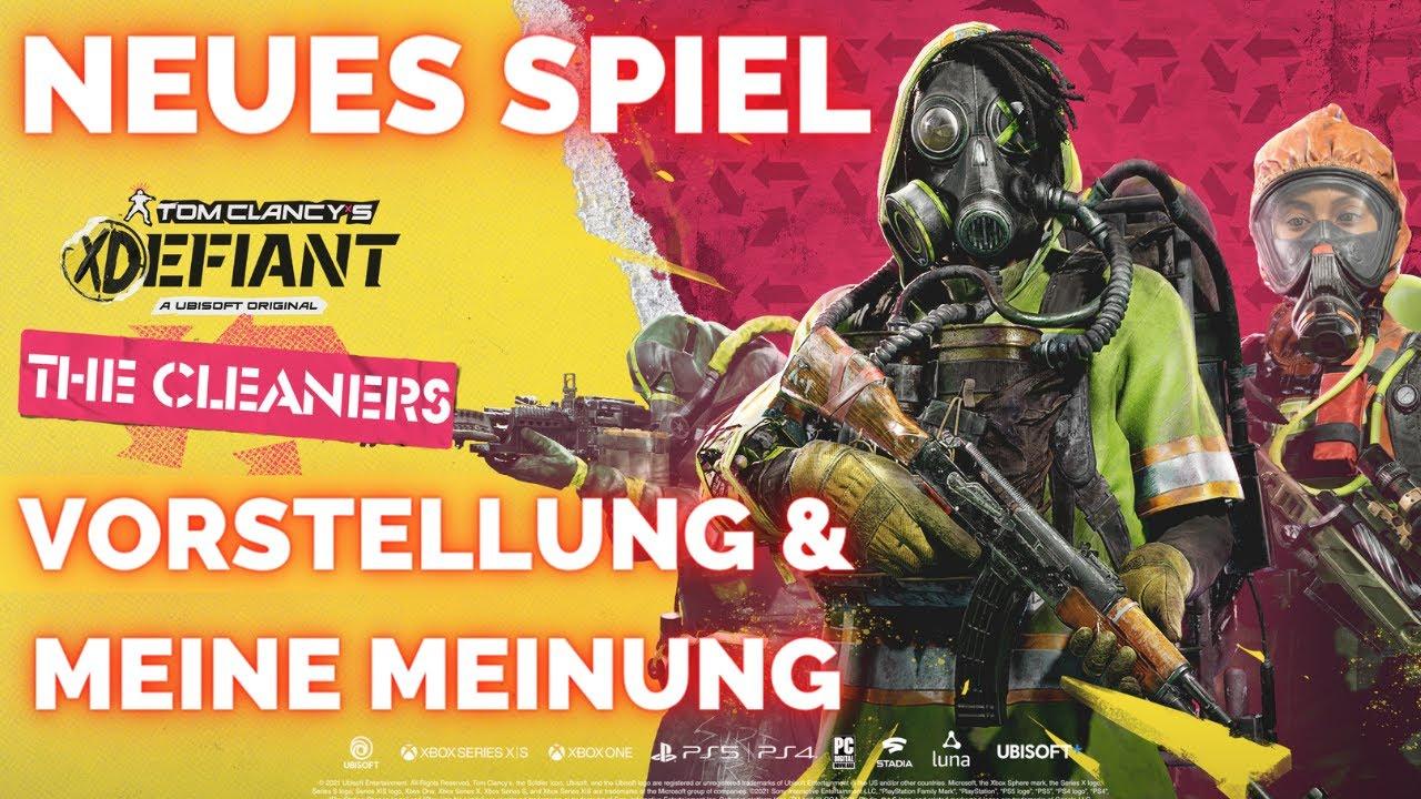 TOM CLANCY'S XDEFIANT - Neues Spiel von Ubisoft angekündigt - Meine Meinung dazu / Xdefiant Deutsch