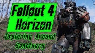 Exploring Around Sanctuary - Fallout 4 Horizon - Episode 2