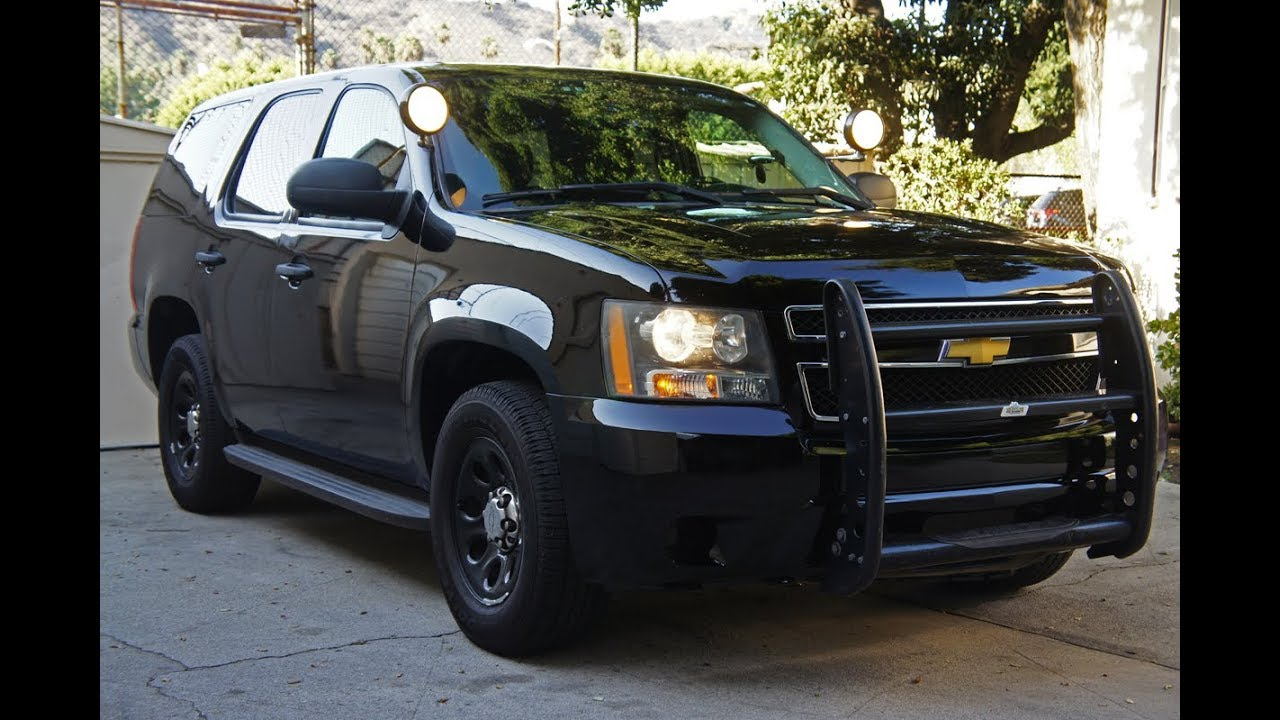 Chevy Tahoe Police Pursuit Vehicle PPV - For Sale (SOLD ...