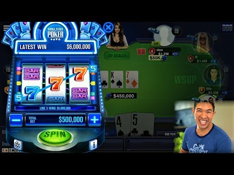 WSOP Strategy For FREE Chips | Table Game + Missions + Slot Machine | World Series Of Poker