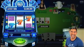 WSOP Strategy for FREE Chips   Table Game + Missions + Slot Machine   World Series of Poker