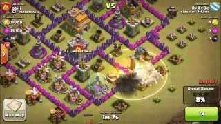 Most heroic defense at war - clash of clans (obii) - 14.7. 2014