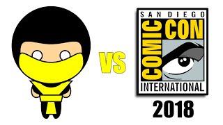 Scorpion Hugs San Diego Comic Con SDCC 2018