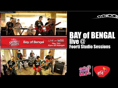 Robi Presents Foorti Studio Sessions with BAY of Bengal