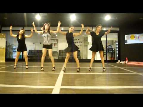 Dance Pop)) Miss A - Goodbye Baby Practice Video