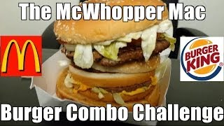 The McWhopper Mac Combo Challenge w/ KenDomik & DamonDevours | FreakEating Vs The World 49