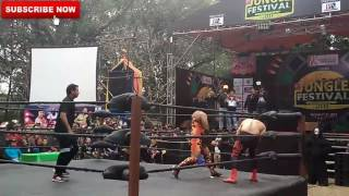 Nepal vs India Wrestling