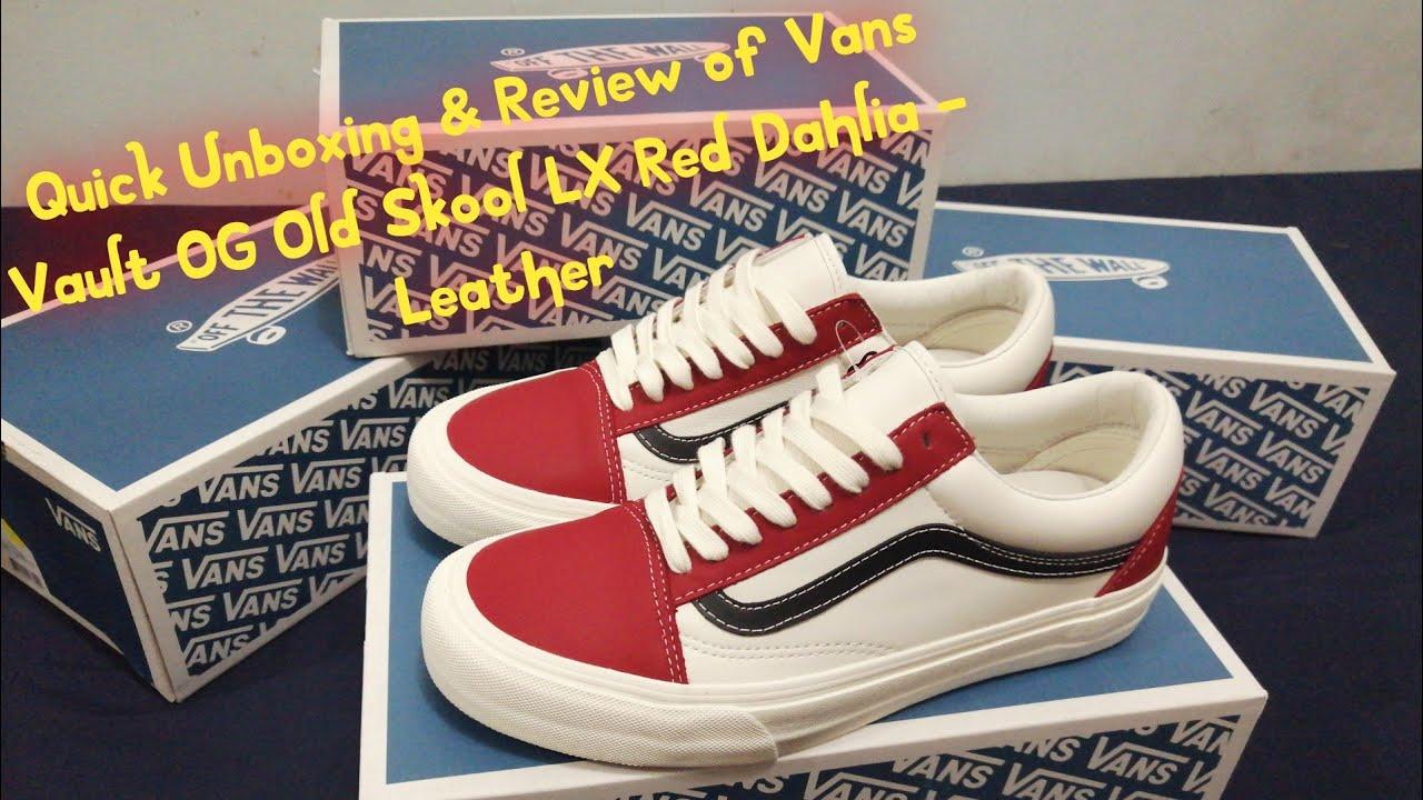 Quick Unboxing \u0026 Review of Vans Vault