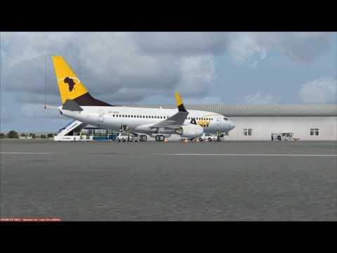 vol Brazzaville à Luanda