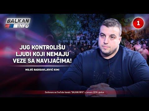 INTERVJU: Miloš Radisavljević Kimi - Jug kontrolišu ljudi koji nemaju veze sa navijačima! (8.1.2018)