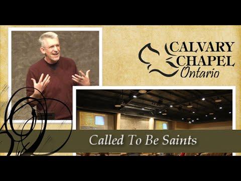 1 Corinthians 1 (Part 1) - Called to be Saints