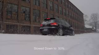 Volkswagen GTI  Winter Tire Test