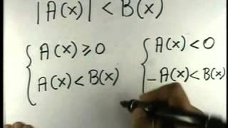 7c. Disequazioni algebriche - Disequazioni con valore assoluto