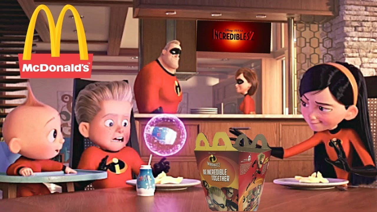 Mcdonalds Incredibles 2 Happy Meal Toys Commercial Disney ...