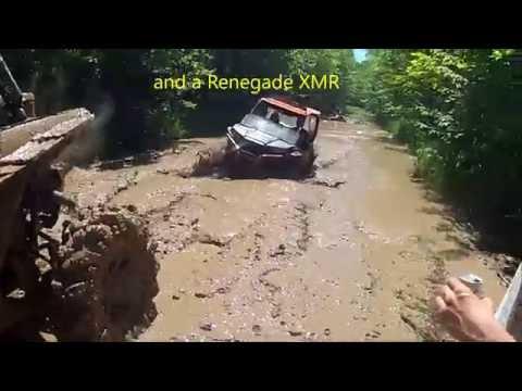 RZR 1000, Turbo XP and 900 XP deep mud showdown