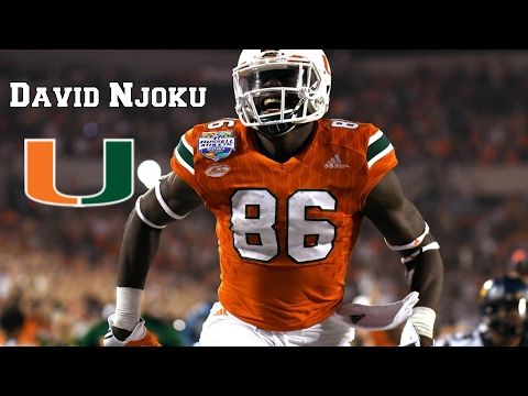 David Njoku || All Around Tight End|| NFL Draft Class 2017