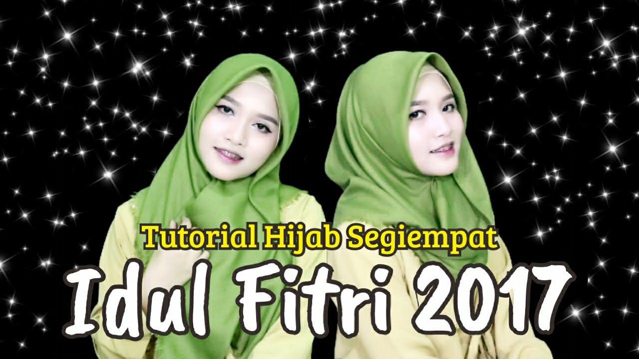 Tutorial Hijab Segiempat Rawis Simple Untuk Hari Raya Idul