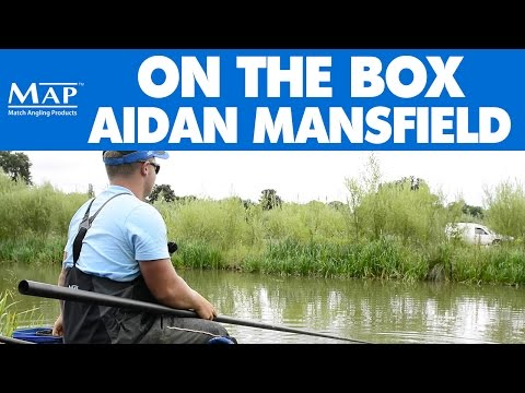 MAP Fishing - Aidan Mansfield On the Box - Live Match Footage - Tunnel Barn High Pool