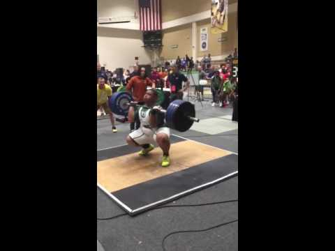 350 lb Clean & Jerk to win FHSAA State Championship