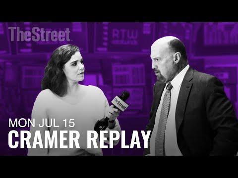 Jim Cramer on Earnings Season, China and Amazon Prime Day