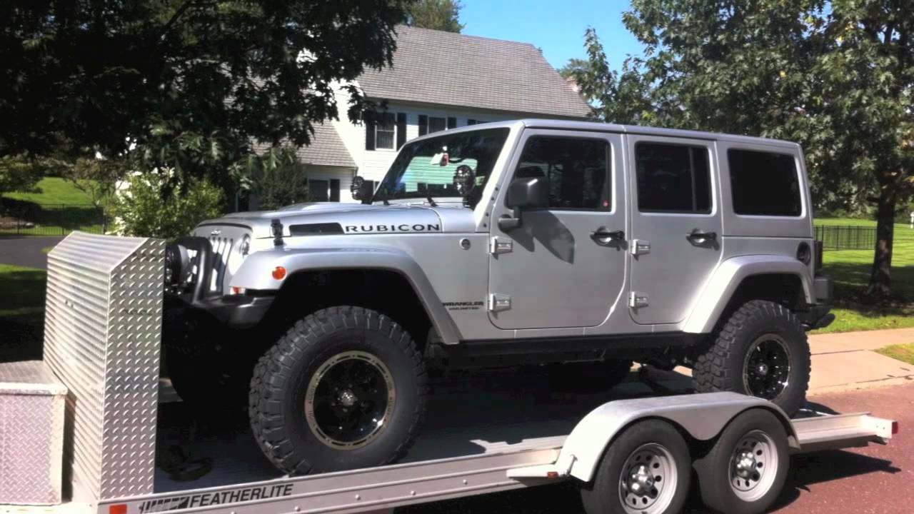 Jeep Wrangler Unlimited Lifted >> 2012 Jeep Wrangler Unlimited Rubicon Rubitrux AEV Gobi ...