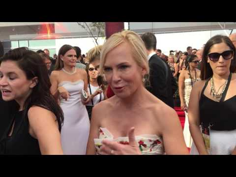 Marti Noxon 'UnREAL' creator on 2016 Emmys red carpet