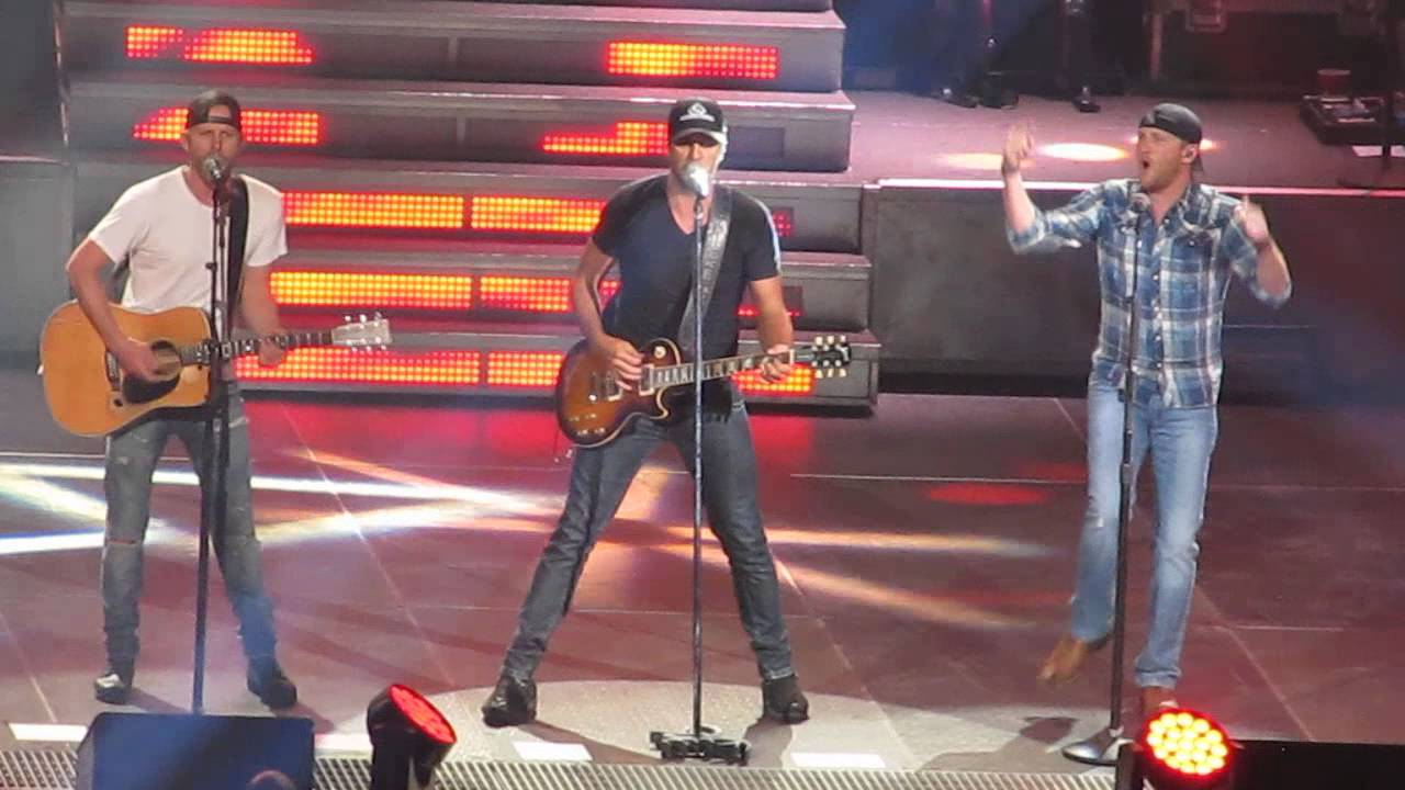 the only way i know - luke bryan, dierks bentley & cole swindell