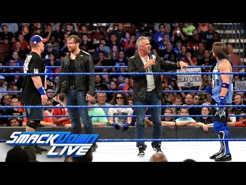 AJ Styles must battle Dean Ambrose and John Cena at No Mercy: SmackDown LIVE, Sept. 13, 2016
