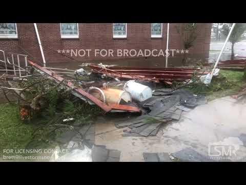 10-10-2018 Port St Joe, FL - Hurricane Michael